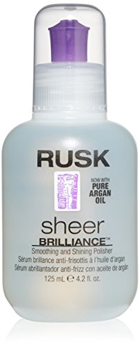 RUSK - Sheer Brilliance Smoothing and Shining Polisher with Argan Oil