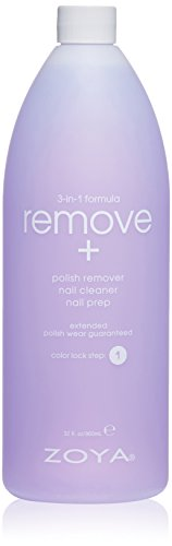 ZOYA - Zoya Remove 3 in 1 Polish Remover, 32 Fluid Ounce