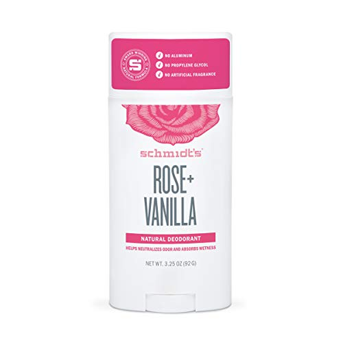 Schmidt's Deodorant Rose and Vanilla