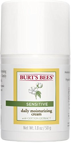 Burt's Bees - Burt's Bees Sensitive Daily Moisturizing Cream 1.8 oz (Pack of 4)