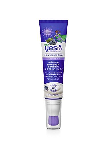 Yes To - Super Blueberries Recharging Yogurt & Probiotics Sleeping Mask