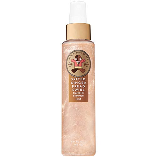 Bath and Body Works - Spiced Gingerbread Swirl Diamond Shimmer