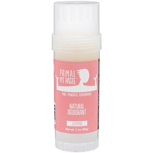 Primal Pit Paste - PRIMAL PIT PASTE Deodorant Stick Jasmine Natural, 2 OZ