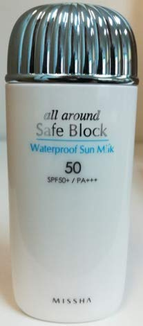 MISSHA - [MISSHA] All-around Safe Block Waterproof Sun Milk SPF50+ PA+++ 70ml