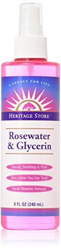 Heritage Products - Heritage Products Rosewater And Glycerin - 8 Fl Oz