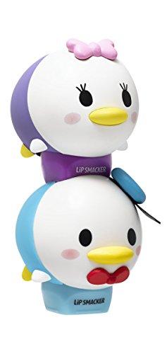 Lip Smacker - Lip Smacker Disney Tsum Tsum Lip Balm Duo, Donald Jelly Quakers/Daisy Glamorous Cotton Candy, 2 Count