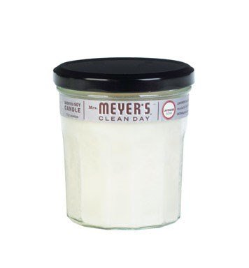 Mrs. Meyer's Clean Day - Mrs. Meyer's Clean Day Soy Candle, Lavender, 7.2-Ounce Glass Jars (Pack of 6)