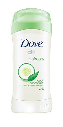 DOVE WOMENS DEO - Dove go fresh Antiperspirant Deodorant, Cool Essentials, 2.6 oz