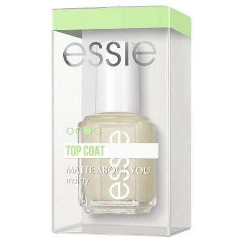 essie - essie matte about you top coat, mattify, 0.46 fl. oz.