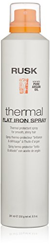 RUSK - RUSK Designer Collection Thermal Flat Iron Spray with Argan Oil, 8.8 fl. oz.