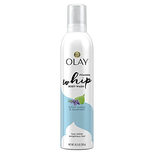 Olay - Olay Purifying Birch Water & Lavender Scent Foaming Whip Body Wash for Women, 10.3 Fluid Ounce