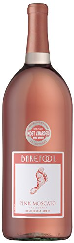Barefoot Wine & Bubbly - Barefoot Pink Moscato, 1.5 L