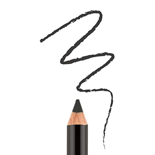 Bodyography - Bodyography Cream Eye Pencil (Onyx): Black Salon Wooden Waterproof Makeup Pencil with Coconut Oil | Long-Wearing, Cruelty-Free, Gluten-Free, Paraben-Free