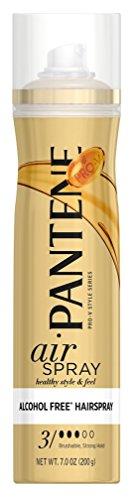 Pantene - Pantene Air Spray 3 Dot Hair Spray Brushable Strong Hold 7 Ounce (207ml) (3 Pack)