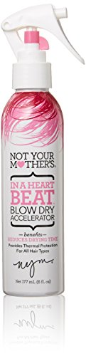 Not Your Mother's - Not Your Mother's In A Heart Beat Blow Dry Accelerator, 6 Ounce