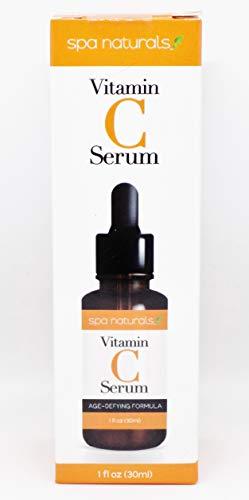 Spa naturals - Spa Naturals, Vitamin C Serum, Age Defying Formula, 1 FL OZ