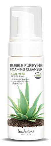 Look At Me Korean Skincare - Bubble Purifying Aloe Vera Foaming Facial Cleanser