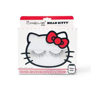 The Crème Shop - The Crème Shop x Sanrio Hello Kitty 100% Handcrafted Lashes (Wispy Wink)