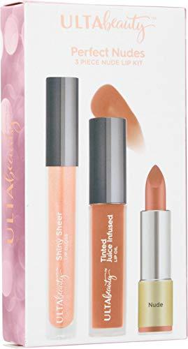 Ulta Beauty - Ulta Beauty Perfect Nudes 3 Piece Nude Lip Kit.
