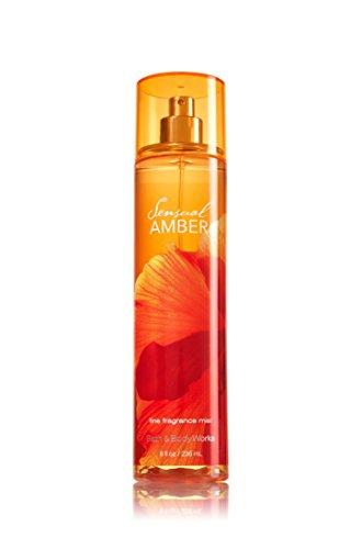 Bath & Body Works - Bath & Body Works Sensual Amber 8.0 Oz Fine Fragrance Mist, 8.0 Ounce
