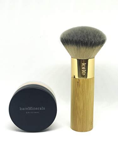 Tarte - BareMinerals Medium beige foundation with Buffer Airbrush Finish Bamboo Foundation Brush bare minerals