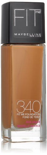 Maybelline New York - Maybelline New York Fit Me! Foundation, 340 Cappuccino, 1.0 Fluid Ounce