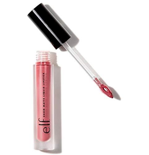 81355 - e.l.f. Sheer Matte Liquid Lipstick, Nude Rose