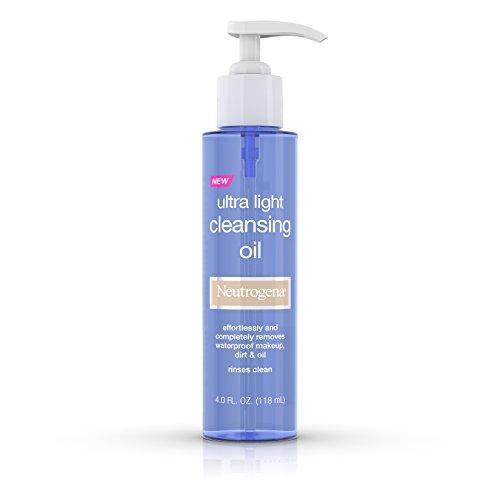 Neutrogena - Ultra Light Facial Cleansing Oil & Makeup Remover