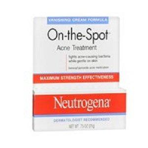 Neutrogena - Neutrogena On-The-Spot Acne Treatment Vanishing Cream Formula 0.75 oz (Pack of 2)