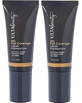 Ulta Beauty - Ulta Beauty 2 Pack HD Full Coverage Liquid Foundation 1 Oz. Deep Cool.