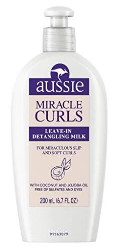 Aussie - Aussie Leave-In Detangling Milk Miracle Curls 6.7 Ounce (200ml) (2 Pack)
