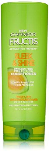 Garnier - Garnier Fructis Sleek & Shine Conditioner, Frizzy, Dry, Unmanageable Hair, 12 fl. oz.