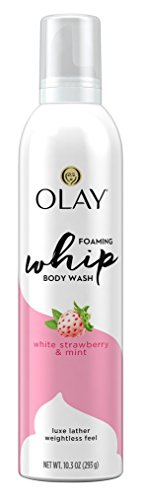 Olay - Olay Body Wash Whip White Strawberry + Mint 10.3 Ounce Foam (6 Pack)