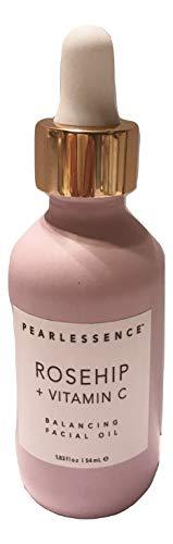 null - Pearlessence Rosehip + Vitamin C Balancing Facial Oil, 1.83 fl. oz.