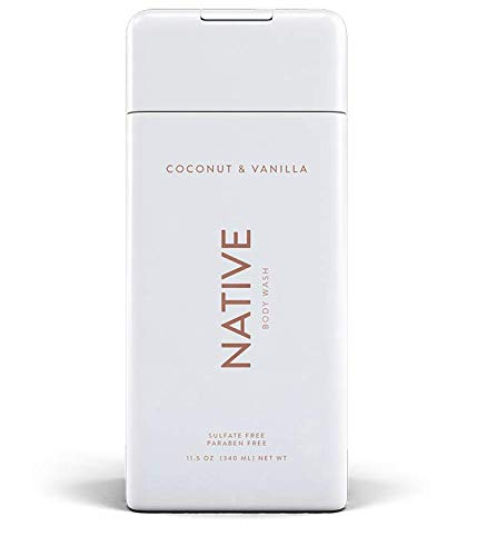 NATIVE Body Wash - NATIVE Body Wash - Coconut & Vanilla 11.5 oz (340ml)