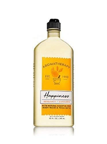 Bath and Body Works - Bath and Body Works Aromatherapy Happiness Bergamot and Mandarin Body Wash and Foam Bath 10 ounces