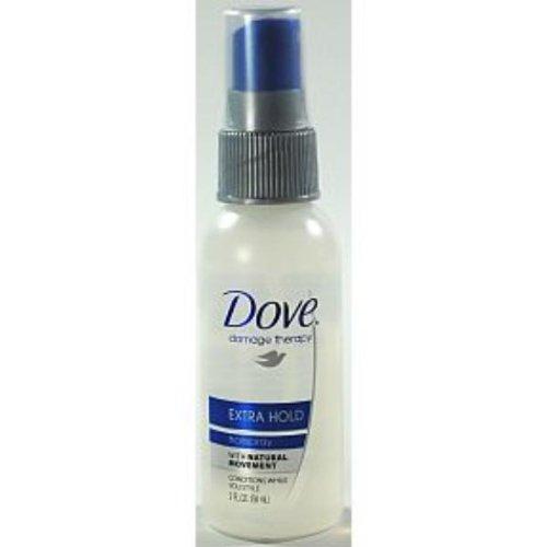 Dove - DRKCB928201 - Dove Non-aerosol Extra-hold Hairspray, Unscented, 2 Oz. Spray Bottle
