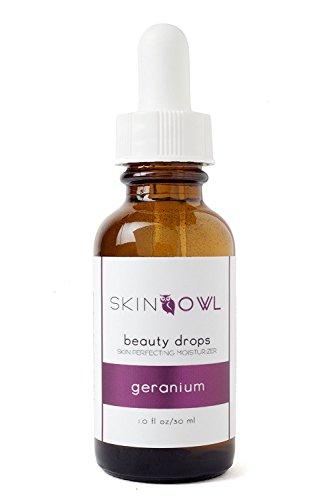 Skin Owl - Skin Owl - Organic/Raw Geranium Beauty Drops (Balances, Decongests & Combats First Signs Of Aging)