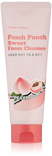 TonyMoly - Peach Punch Sweet Foam Cleanser