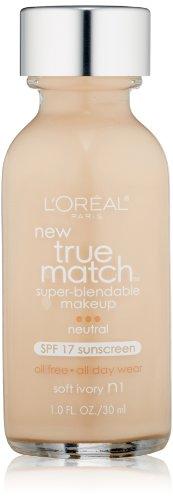 L'Oreal Paris - L'Oréal Paris True Match Super-Blendable Makeup, Soft Ivory, 1 fl. oz.