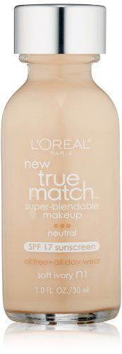 L'Oreal Paris - L'Oréal Paris True Match Super-Blendable Makeup, Soft Ivory, 1 fl. oz.