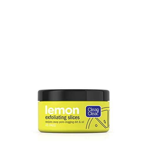 Clean and Clear - Lemon Exfoliating Slices with Lemon Extract & Vitamin C