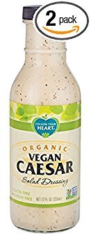 Follow Your Heart - Follow Your Heart Organic Vegan Caesar Salad Dressing 335ml (Pack of 2)