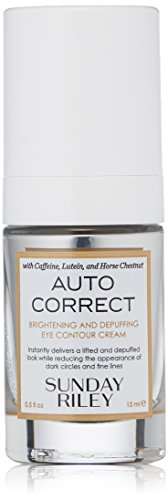 Sunday Riley - Auto Correct Brightening and Depuffing Eye Contour Cream