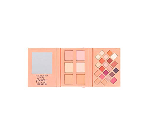Ulta Beauty - Ulta Beauty Limited Edition Complete Fold Out Face & Eye Palette ~ 21 Eye Shadows, 2 Blushes, 2 Highlighters & 2 Bronzers ~ With Mirror