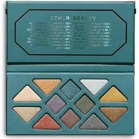 null - AETHER BEAUTY Crystal Grid Gemstone Eyeshadow Palette