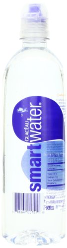 smartwater - Glaceau Smart Water, 23.7-Ounce (Pack of 6)