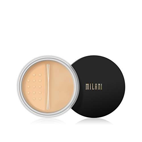 Milani - Milani Make It Last Setting Powder - Translucent Banana (.12 Ounce) Cruelty-Free Mattifying Face Powder that Sets Makeup for Long-Lasting Wear