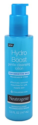 Neutrogena Neutrogena Hydro Boost Gentle Cleansing Lotion 5 Ounce Fragrance-Free (147ml)