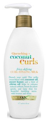 OGX - Ogx Coconut Curls Styling Milk 6 Ounce (Frizz-Defying) (177ml) (2 Pack)